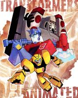 Transformers Animated by ai-eye