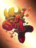 Hellboy Color by marespro13