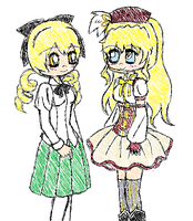 Mami and Lilly - Clothes Swap by IAmTheBird