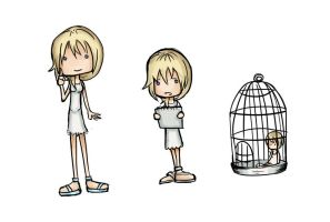 Namine Adoptable Stages by SnowpirateRoy