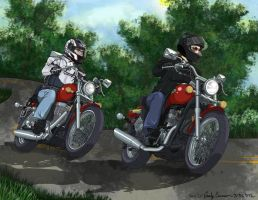 Let's Go For a Ride Colored by OtakuEC