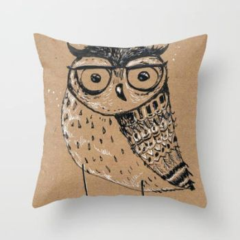 Owl-with-glasses by bemain
