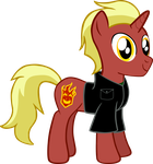 My first vector of, Commander Firebrand. by Flutterflyraptor