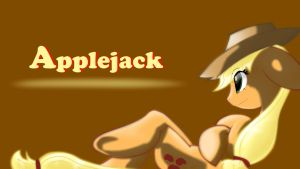Applejack. 50% shade opacity. by Animeculture