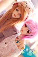 .:.:Reighley and Candy:.:. by AzumiXVampire