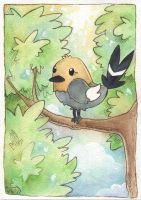 Fletchling by scilk
