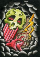 ACEO Cards 3of6 by SludgeBrain