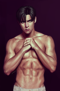 realistic Levi 2 by Dinklebert