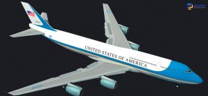 Boeing Air Force One VC-25 by Gandoza