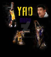 Yao Ming 'Kobe owns' by chaskillz