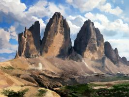Dolomites by Silberius
