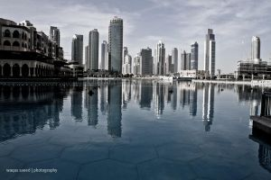 Reflection Dubai by pixmestudio
