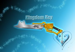 Keygunblade - Kingdom Key - by WeapondesignerDawe