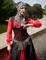 STOCK - Oriental Goth by Apsara-Art