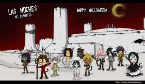 Halloween in Hueco Mundo 2010 by o-Briyi