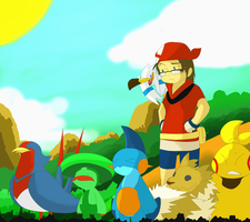My Disordered Hoenn Team by MasaBear