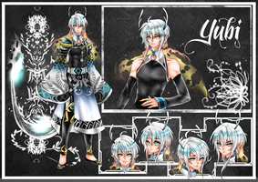 Character Sheet Of Yubi by shrimpHEBY