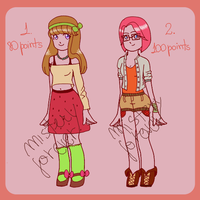 ~ indie girls adoptables ~ OPEN by Mistery-forever