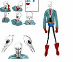 Character Sheet: Genocide survivor Papyrus by Oregonkitty
