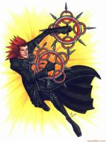 Axel by psycrowe
