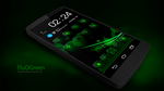 Next Launcher Theme FluOGreen by Karsakoff