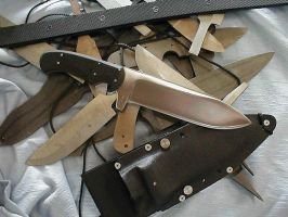 Handmade Knives from my Work by nohair