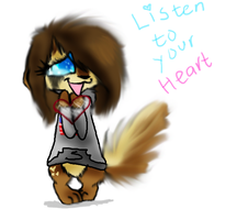 Listen To Your Heart by WaffIo
