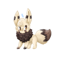 Nady The Eevee .:Gift:. by Memaiva
