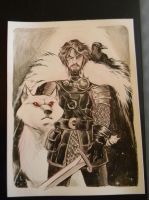 Jon Snow by TessFowler