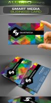 Smart Media Business Card by ravirajcoomar