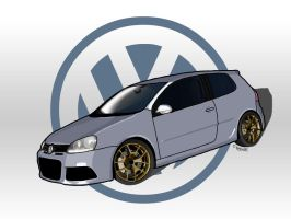Volkswagen TB Concept Toon by Knowleso
