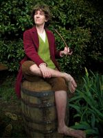 Barrel Rider: Bilbo Baggins cosplay by Wilkowen