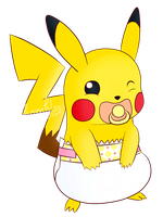 PokePadded - Pikachu (Request) by the--shambles