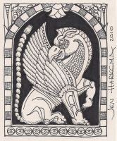 Artist Trading Card-Gryffin by Art-ifact