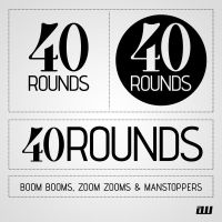 Forty Rounds Logo by 5MILLI