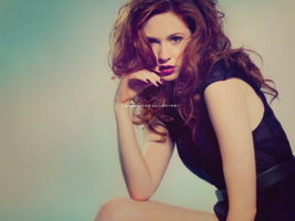 Karen Gillan Wallpaper by Lavasbuffo
