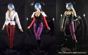 Morrigan Aensland 1/6 custom figure by PrimPalver