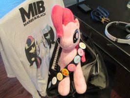 Pinkie is going to Canterlot Gardens with me ^_^ by Template93