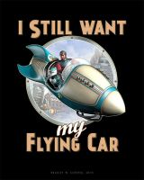 I Still Want My Flying Car by BWS
