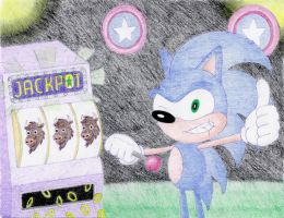 Sonic Casino Gamer by Yeldarb86