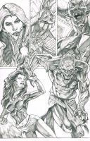 Witchblade page by MonsterSaw