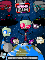 Invader ZIM Comic Cover by A002