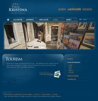 Villa Kristina - Website by gagi03