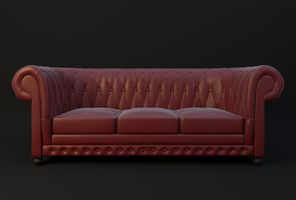 Chesterfield Couch by JoeyBlendhead