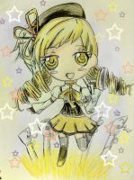 Mami Chibi by WhiteMageRinny
