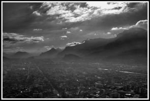 Grenoble by Cyssoo