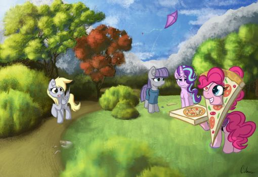 Friendship Delivery by Calenita