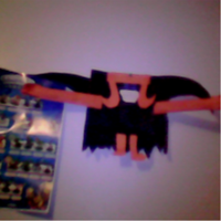 JACKLE NIGHTMAREN PAPERCRAFT by me by DEVIOUS-DISCORD-RP