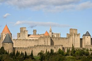 La Cite de Carcassonne - 1722 by Jaded-Paladin