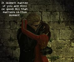It Doesn't Matter Wesker X Claire by Mephonix